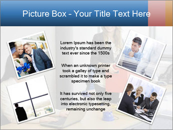 Blonde woman PowerPoint Template - Slide 24