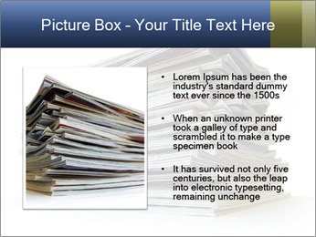 Old magazines PowerPoint Template - Slide 13