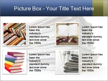 Old magazines PowerPoint Template - Slide 14