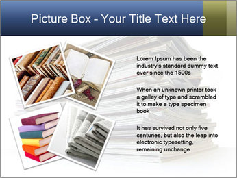 Old magazines PowerPoint Template - Slide 23