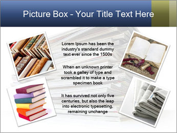 Old magazines PowerPoint Template - Slide 24