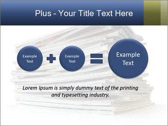 Old magazines PowerPoint Template - Slide 75