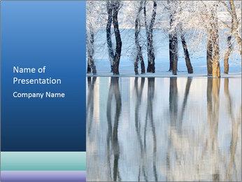 Winter PowerPoint Template - Slide 1