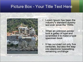 Holy monastery of Athos PowerPoint Templates - Slide 13