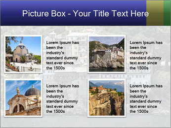 Holy monastery of Athos PowerPoint Templates - Slide 14