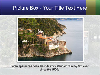 Holy monastery of Athos PowerPoint Templates - Slide 15