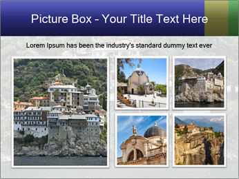 Holy monastery of Athos PowerPoint Templates - Slide 19
