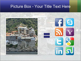 Holy monastery of Athos PowerPoint Templates - Slide 21