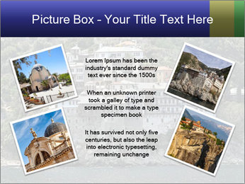 Holy monastery of Athos PowerPoint Templates - Slide 24
