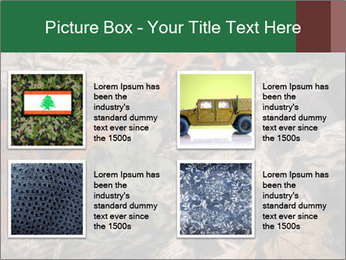 Camouflage PowerPoint Template - Slide 14
