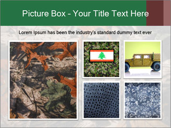 Camouflage PowerPoint Template - Slide 19