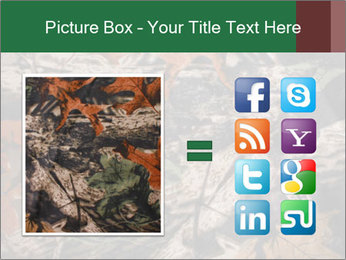 Camouflage PowerPoint Template - Slide 21