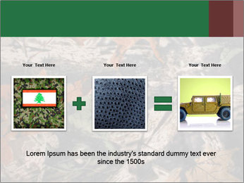 Camouflage PowerPoint Template - Slide 22