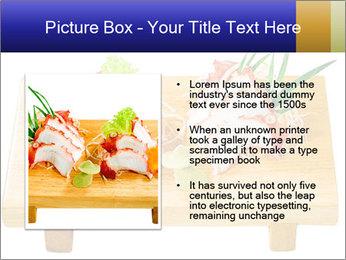 Japanese menu PowerPoint Template - Slide 13