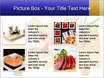 Japanese menu PowerPoint Template - Slide 14