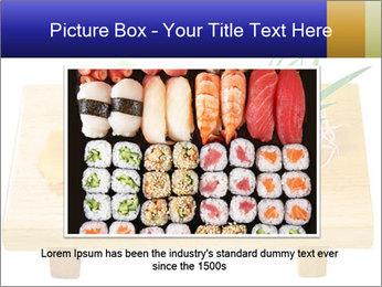 Japanese menu PowerPoint Template - Slide 16