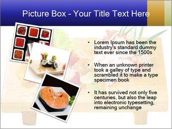 Japanese menu PowerPoint Template - Slide 17