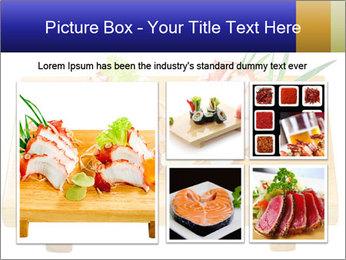 Japanese menu PowerPoint Template - Slide 19