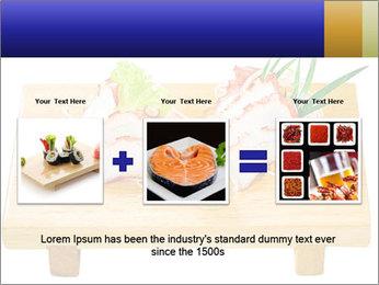 Japanese menu PowerPoint Template - Slide 22