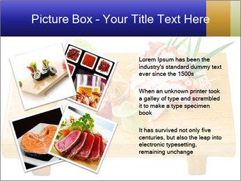 Japanese menu PowerPoint Template - Slide 23