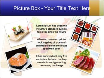 Japanese menu PowerPoint Template - Slide 24