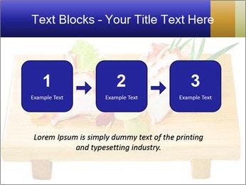 Japanese menu PowerPoint Template - Slide 71