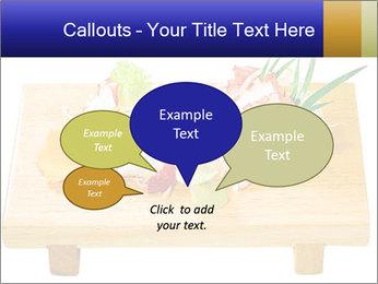 Japanese menu PowerPoint Template - Slide 73
