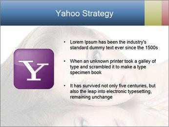 Beautiful teen girl PowerPoint Template - Slide 11