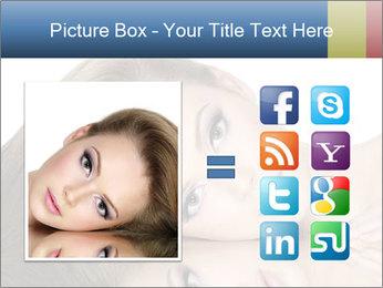 Beautiful teen girl PowerPoint Template - Slide 21