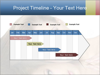 Beautiful teen girl PowerPoint Template - Slide 25