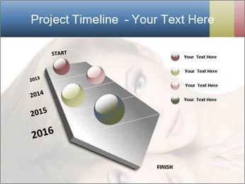Beautiful teen girl PowerPoint Template - Slide 26