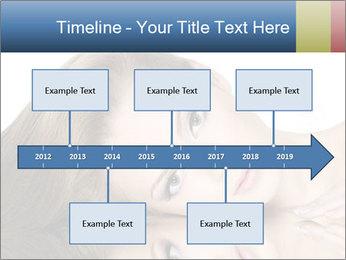 Beautiful teen girl PowerPoint Template - Slide 28