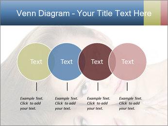 Beautiful teen girl PowerPoint Template - Slide 32
