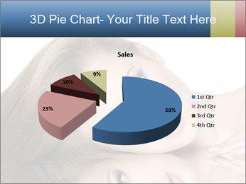 Beautiful teen girl PowerPoint Template - Slide 35