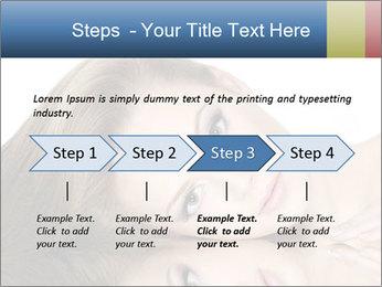 Beautiful teen girl PowerPoint Template - Slide 4