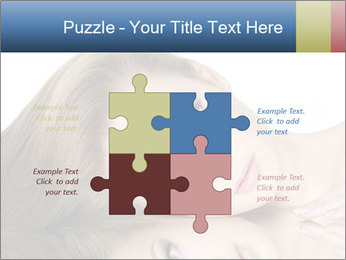 Beautiful teen girl PowerPoint Template - Slide 43