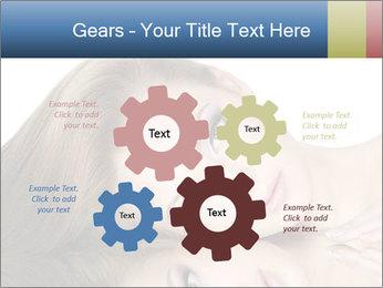 Beautiful teen girl PowerPoint Template - Slide 47