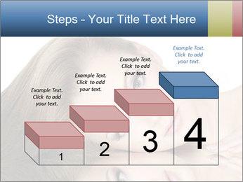 Beautiful teen girl PowerPoint Template - Slide 64