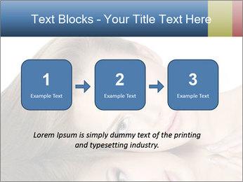 Beautiful teen girl PowerPoint Template - Slide 71
