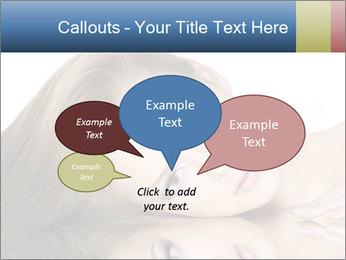 Beautiful teen girl PowerPoint Template - Slide 73