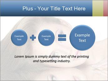 Beautiful teen girl PowerPoint Template - Slide 75