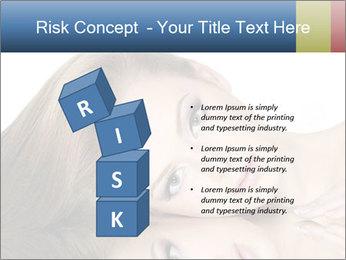 Beautiful teen girl PowerPoint Template - Slide 81