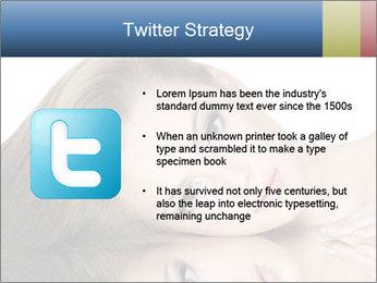 Beautiful teen girl PowerPoint Template - Slide 9