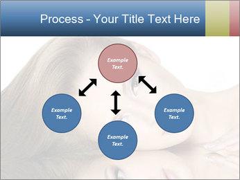 Beautiful teen girl PowerPoint Template - Slide 91