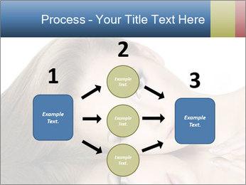 Beautiful teen girl PowerPoint Template - Slide 92
