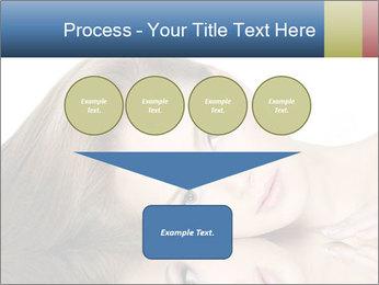 Beautiful teen girl PowerPoint Template - Slide 93
