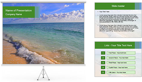 Paradise PowerPoint Template
