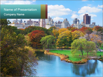 Central Park PowerPoint Templates - Slide 1