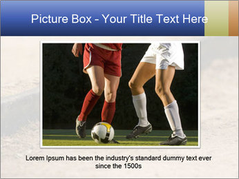 Athletic field. PowerPoint Template - Slide 16