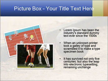 Athletic field. PowerPoint Template - Slide 20